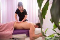 Massage dorsal Rolle